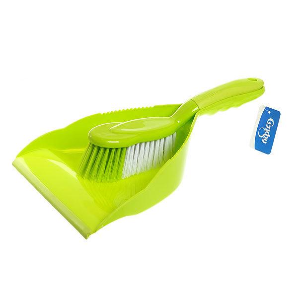 Набор для уборки, щетка-сметка и совок для мусора 36см 680 купить оптом и в розницу