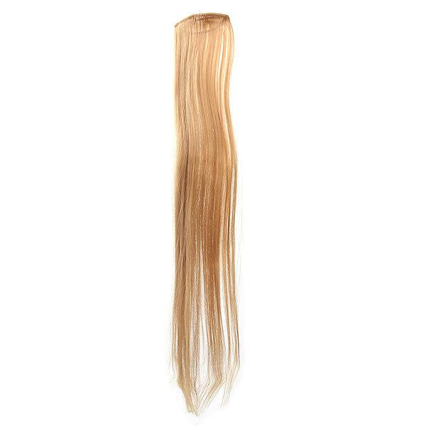 Волосы накладные ″Прядь русая″ на зажимах 9*60 см 517-2 купить оптом и в розницу