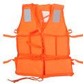 Жилет спасательный оранжевый LV07 средн размер купить оптом и в розницу