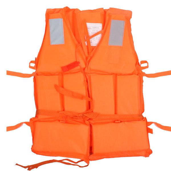 Жилет страховочный оранжевый LV07 средн размер купить оптом и в розницу