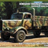 Сб.модель П3596 ПН Немецкий грузовик L4500A купить оптом и в розницу