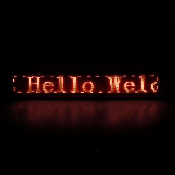 Световое табло LED 68*13см ″Бегущая строка″ 1 цвет купить оптом и в розницу