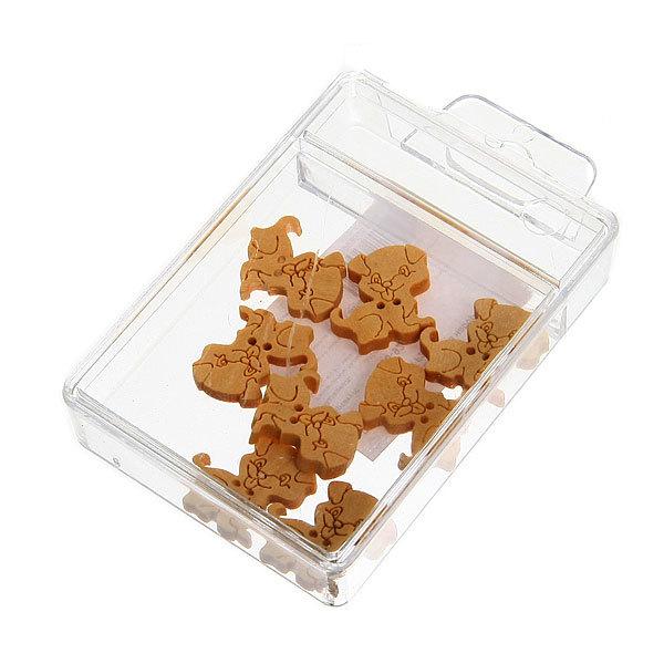 Пуговицы в наборе 8шт Собачки-Косточки F213(цена за 1наборчик) купить оптом и в розницу