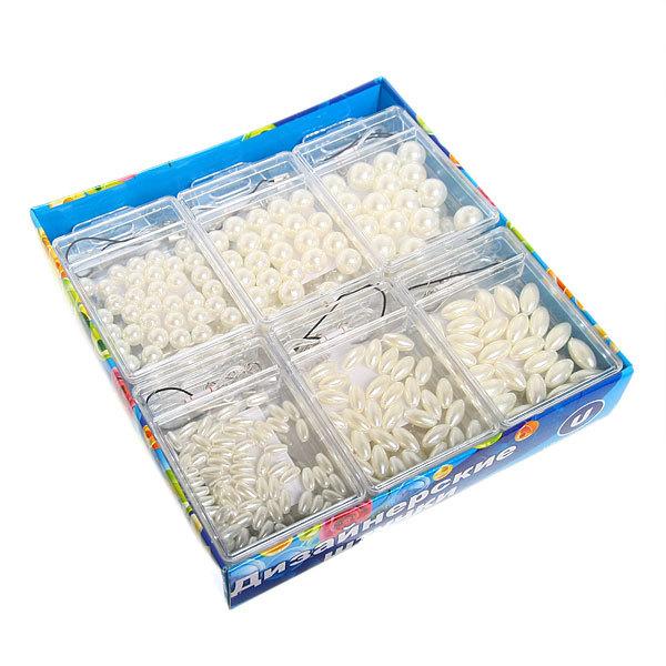 Набор для плетения ″Жемчужины″ в коробке 108 Ультрамарин купить оптом и в розницу