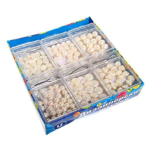Набор для плетения ″Жемчуг″ в коробке 2052 Ультрамарин купить оптом и в розницу
