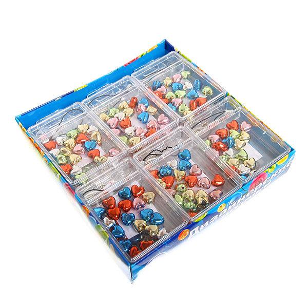 Набор для плетения ″Сердечки″ в коробке 2115 Ультрамарин купить оптом и в розницу