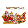 Плакат новогодний 32*57 см Дед Мороз С Новым Годом! купить оптом и в розницу