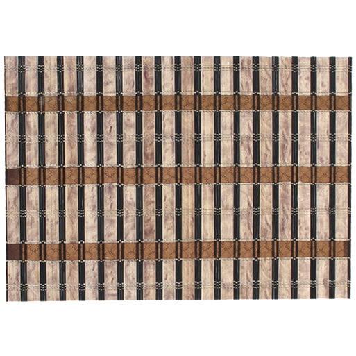 Салфетка на стол 30*45см бамбуковая широкие полоски купить оптом и в розницу