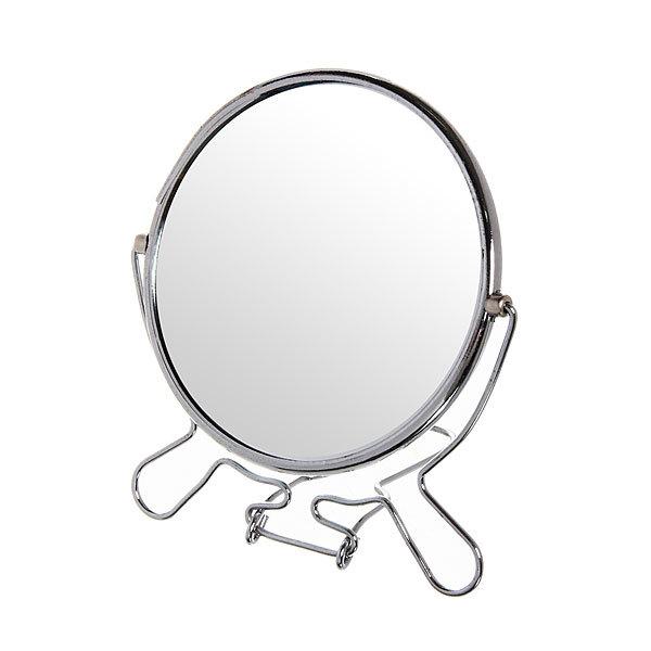 Зеркало настольное в металлической оправе ″Модерн″ круг, одностороннее d20см купить оптом и в розницу