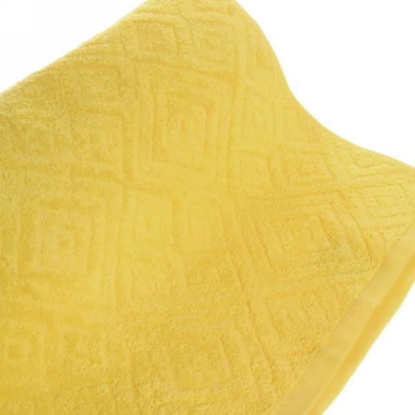 Махровое полотенце 70*140см французский желтый жаккард ЖК140-2-005-030 купить оптом и в розницу