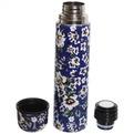 Термос с металлической колбой 750 мл ″Селфи″ ″ Синий цветок″ купить оптом и в розницу