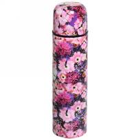 Термос с металлической колбой 500 мл ″Селфи″ ″ Розовый цветок″ купить оптом и в розницу