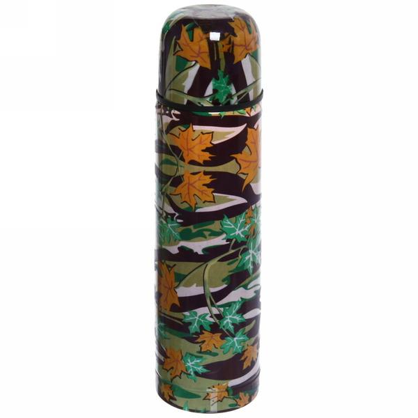 Термос с металлической колбой 500 мл ″Селфи″ ″ Листья ″ 16121-28 купить оптом и в розницу