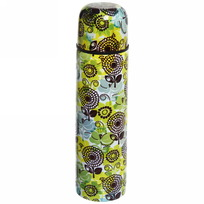 Термос с металлической колбой 500 мл ″Селфи″ ″ Зеленый узор ″ купить оптом и в розницу