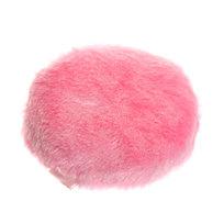 Пуховка для лица ворс розовая купить оптом и в розницу