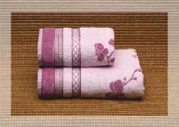 ПЦ-634-1250 полотенце 50x100 махр п/т RAMETTO цв.10000 купить оптом и в розницу