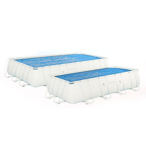 Чехол для прямоугольных каркасных бассейнов 671*366*132 см с нагревающим эффектом Bestway (58254) купить оптом и в розницу