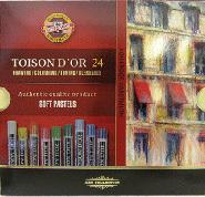 Пастель худ.24цв. Koh-I-Noor Toison Dor к/у купить оптом и в розницу