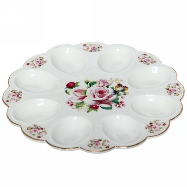 Тарелка для яиц 22см ″Цветы″ 1 купить оптом и в розницу