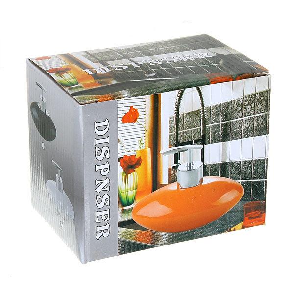 Дозатор для жидкого мыла 2622 оранжевый купить оптом и в розницу