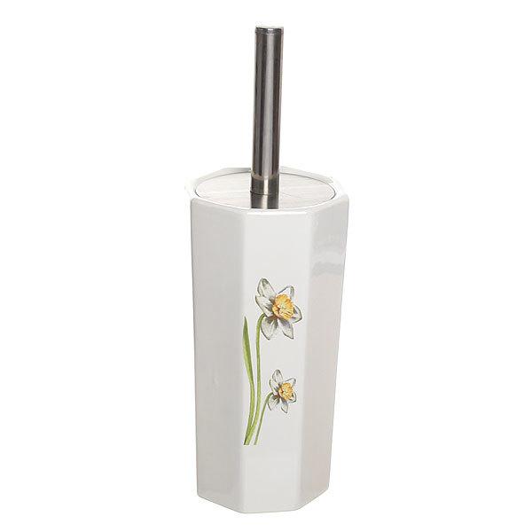 Ерш для туалета, цветы, 38 см купить оптом и в розницу