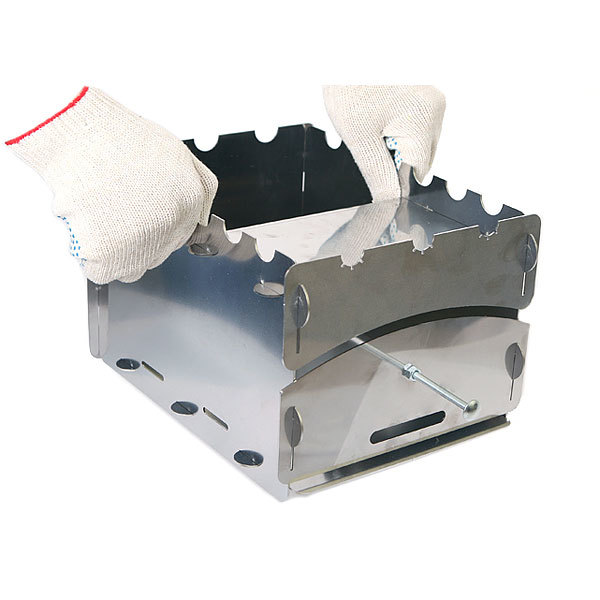 Печка-мангал ПРИВАЛ сталь 1,5 купить оптом и в розницу