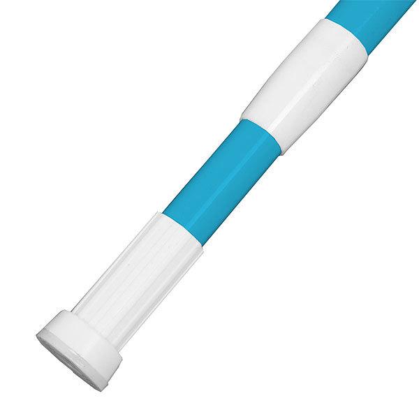 Карниз для ванной 110-200 голубой купить оптом и в розницу