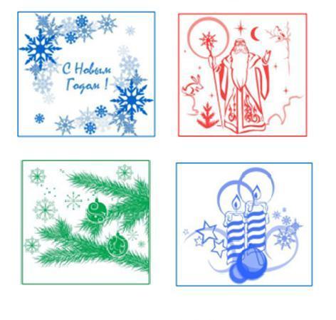 Салфетки бумажные Новогодние 1сл 50л. Нега с рис в асс (новогодние. цветы, клетка) купить оптом и в розницу