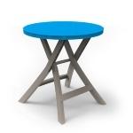 Стол Oregon Curver голуб./беж. 70*70*72 (BISTRO TABLE) купить оптом и в розницу