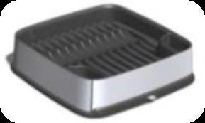 Сушилка для посуды DECO Curver гранит/крем./ *4шт купить оптом и в розницу