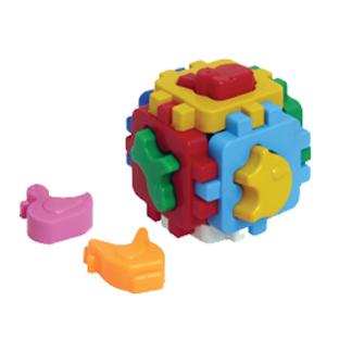 Логич.игрушка Куб Умный малыш Домашние животные 1943 /интелком/ купить оптом и в розницу