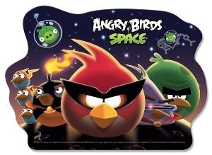 Доска для пластилина А5+ Angry Birds фигурная 150*210мм купить оптом и в розницу