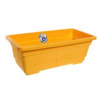Кашпо для цветов садовое ″Ящик балконный″ 40х20х14см 3132 желтый купить оптом и в розницу