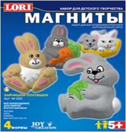 Набор ДТ Магнит Зайчишки-Плутишки М-035 Lori купить оптом и в розницу