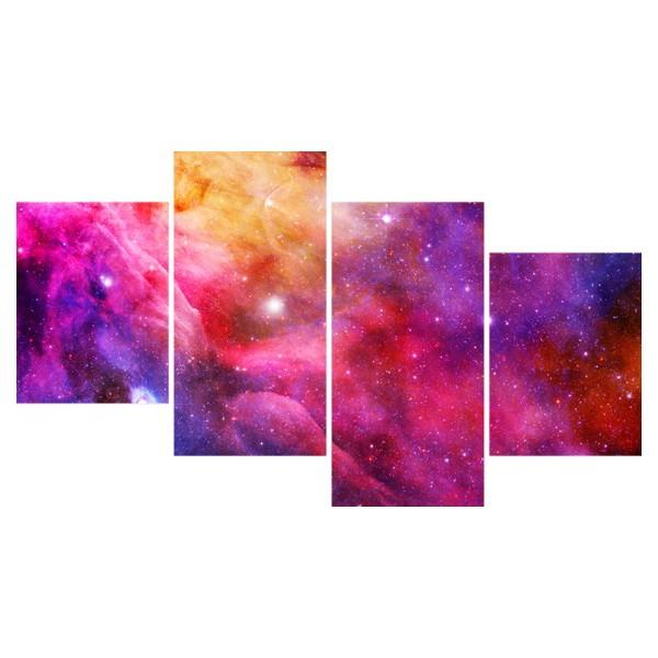 Картина модульная полиптих 60*129 Космос диз.5 41-03 купить оптом и в розницу