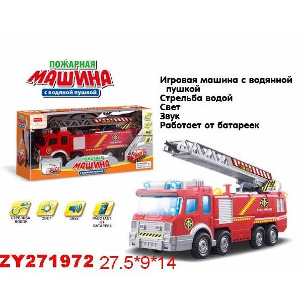 Машина на бат. 0724B-ZYB Пожарная машина в кор. купить оптом и в розницу