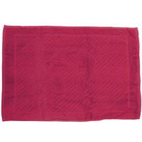 Махровое полотенце для ног 50*70см красное купить оптом и в розницу