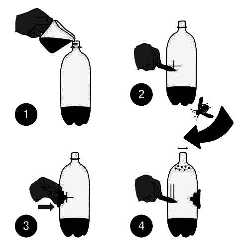 Ловушка для ос Мухояр (вставка для пластиково бутылки) купить оптом и в розницу
