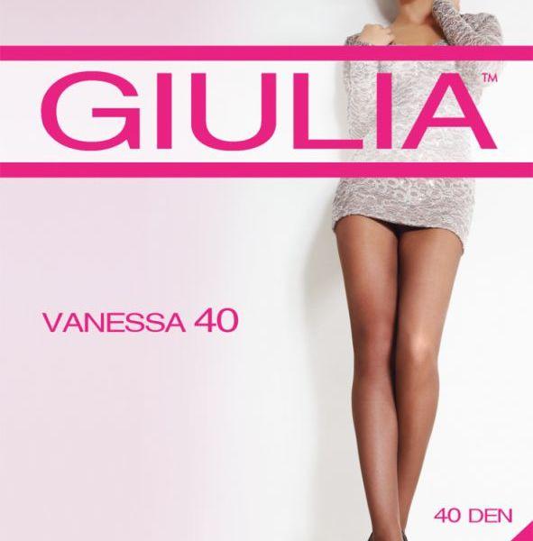 Колготки женские GIULIA / VANESSA 40 nero 4 (черный), со штанишками и укрепленным мыском купить оптом и в розницу
