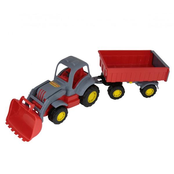 Трактор Силач с прицепом №1 с ковшом 45027 П-Е /6/ купить оптом и в розницу
