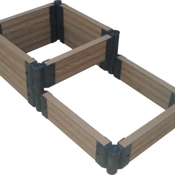 Доска для грядки из ДПК, длина 1,2 м (Длина - 1,2 м, Высота - 15 см,Толщина - 25 мм) купить оптом и в розницу