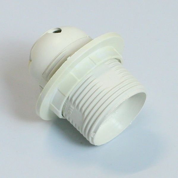 Электропатрон белый не в сборе (1/1) купить оптом и в розницу