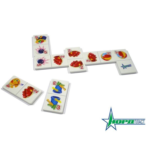 Домино 828 Игры и игрушки Норд /36/ купить оптом и в розницу