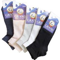 Носки женские GRAND, однотонные, цвет в ассортименте р. 23-25 купить оптом и в розницу