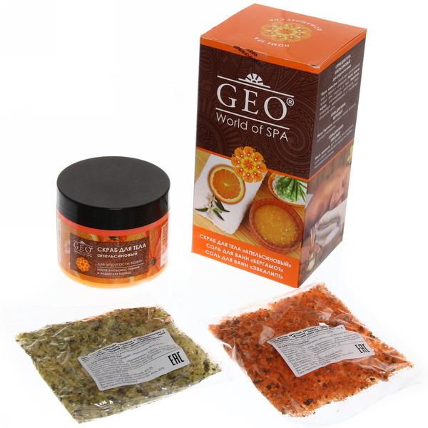 Geo П.Н. №331 Апельсин (скраб д/т+соль д/в) 1611 купить оптом и в розницу