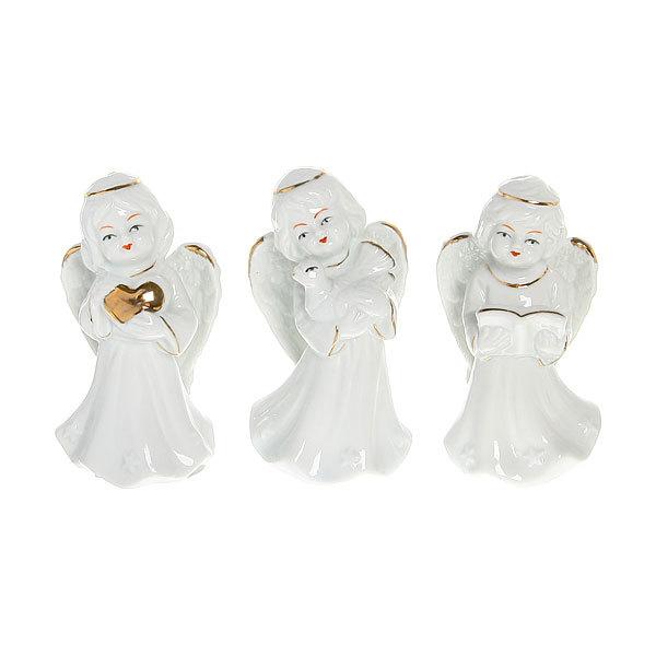 Фигурка из керамики ″Ангелочек″ 10,5см купить оптом и в розницу