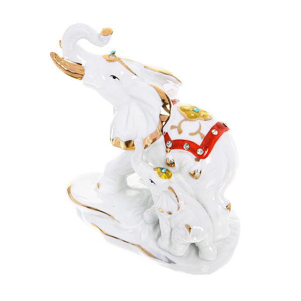 Фигурка керамическая ″Слон праздничный″, 11,5*10см купить оптом и в розницу