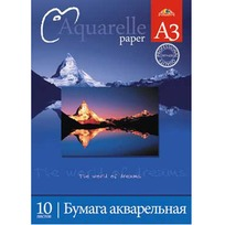 Папка д/акварели 10 л. А3 Горы С0112-04 купить оптом и в розницу