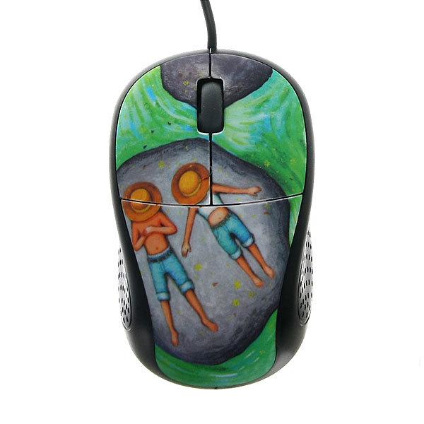 Мышка для компьютера USB ″Романтика″ 9*5см FC-2165Т купить оптом и в розницу