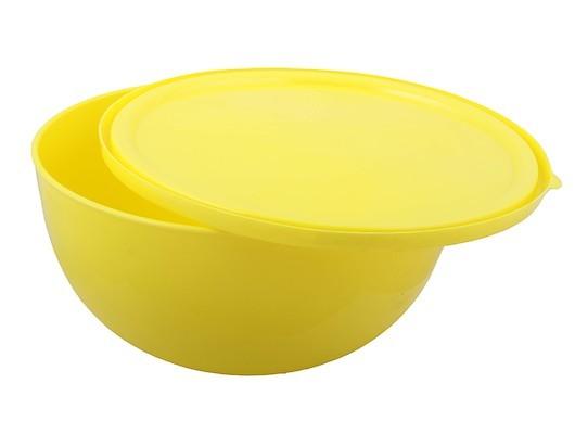 """Салатник """"Galaxy"""" 2,5 л с крышкой лимон*32 купить оптом и в розницу"""